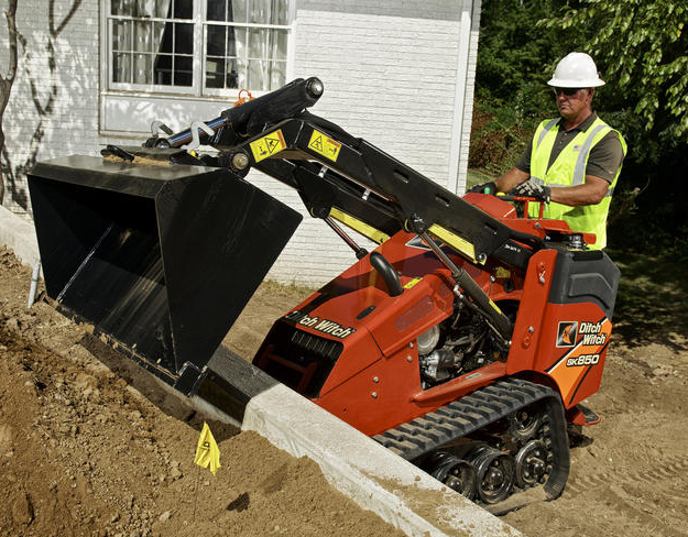 The Ditch Witch® line of Stand-On Skid Steers deliver innovative solutions designed to address many of today's challenging construction needs