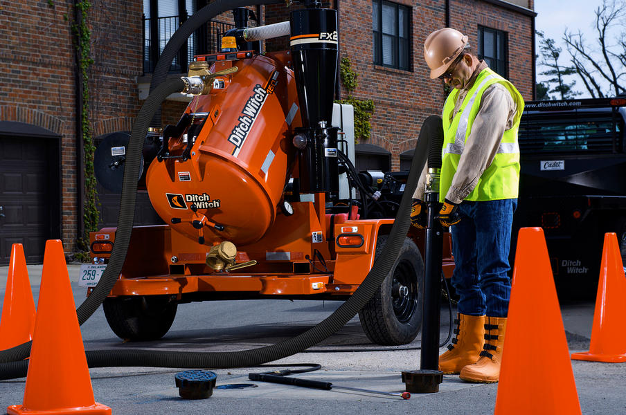 Fx25 Vacuum Excavation Ditch Witch Midwest