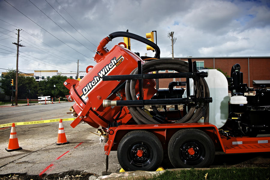 500 Gallon Fuel Tank >> FX25   Vacuum Excavation   Ditch Witch Midwest
